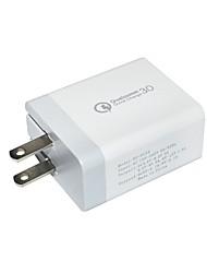 Недорогие -Зарядное устройство USB SR-701US 2 Настольная зарядная станция ЖК дисплей / Новый дизайн / С интеллектуальной идентификацией Стандарт США Адаптер зарядки