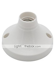 billige -1pc E14 til E14 E14 Bulb Accessory Plast Lyspære socket