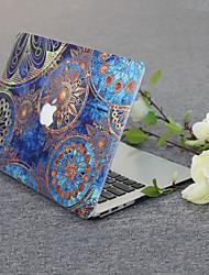 Недорогие -Твердый переплет ПВХ оболочки для MacBook Pro 13-дюймовый A1278 цветок серии черный поддон