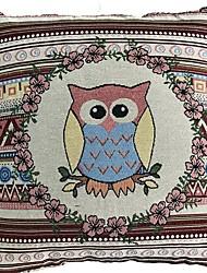 abordables -1 pcs Coton / Lin Housse de coussin, Décoration artistique simple Style artistique Avec motifs