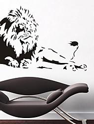 Недорогие -Декоративные наклейки на стены - Наклейки для животных Животные Кабинет / Офис / Офис