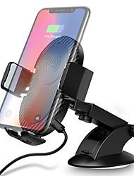 Недорогие -Ци беспроводное автомобильное зарядное устройство быстрой зарядки автомобильный держатель телефона держатель вентиляционного отверстия