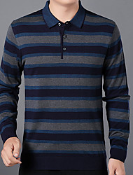 preiswerte -Herrn Gestreift T-shirt
