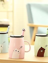 זול -drinkware ספלים & כוסות חַרְסִינָה אנימציה / חמוד מסיבת תה / יום יומי\קז'ואל