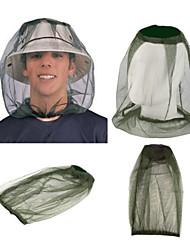 Недорогие -Головные уборы Защита от комаров / Защита от  насекомых Тюль Однотонный Походы 45*33 cm