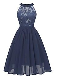 halpa -naisten edellä polvi linja mekko viini vaaleansininen violetti s m l xl