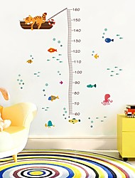 ieftine -Adezive de Măsurat Înălțimea - Autocolante perete plane Abstract Dormitor / Cameră Copii