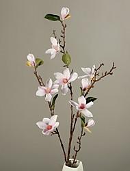 Недорогие -искусственный цветок нерегулярный 1 ветвь номер с полиэстером для украшения дома офиса вечный пол цветок классический современный стиль