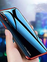 billiga -fodral Till Huawei Huawei P30 / Huawei P30 Pro Plätering / Ultratunt / Genomskinlig Skal Enfärgad Mjukt TPU för Huawei P20 / Huawei P20 Pro / Huawei P20 lite