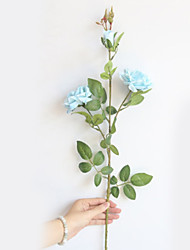 저렴한 -인공 꽃 2 분기 클래식 현대 현대 플랜츠 영원한 꽃 스탠딩 플라워