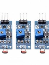 Недорогие -3 шт. Светочувствительный цифровой переключатель mete output модуль светочувствительного датчика для arduino