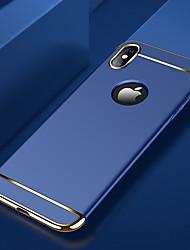 Недорогие -Кейс для Назначение Apple iPhone XS / iPhone XR / iPhone XS Max Покрытие / Ультратонкий / Матовое Кейс на заднюю панель Однотонный Твердый ПК