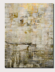 abordables -Peinture à l'huile Hang-peint Peint à la main - Abstrait Paysage Contemporain Moderne Inclure cadre intérieur