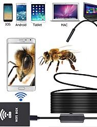 Недорогие -1 м 3,5 м 5 м 10 м рабочая длина 8 мм объектив промышленного эндоскопа поддержка IOS Android Tablet Mac PC Wi-Fi эндоскоп