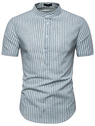 お買い得  -男性用 Tシャツ カラーブロック ダックグレー L