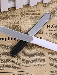 billiga -1st Rostfritt stål Nail Art Tool Till Fingernageö Matt / Vattentålig / Universell White Series nagel konst manikyr Pedikyr Stilig Dagligen
