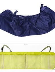 Недорогие -сумка для хранения автомобиля большой емкости автомобиль висит сумка ткань Оксфорд сетка задняя сумка