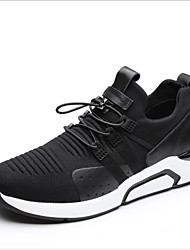 ieftine -Bărbați Pantofi de confort Plasă Primavara vara Adidași de Atletism Negru