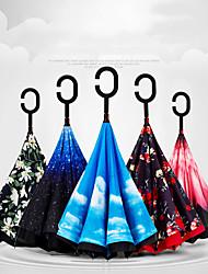 levne -Speciální materiál Vše Sunny a Rainy / kreativita / Zářící barvy Skládací deštník