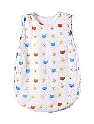 Недорогие -2шт малыш Мальчики Цветочный принт Стильные / Цветочный / Цветочный стиль Без рукавов Хлопок / Бамбуковая ткань Пижамы Белый
