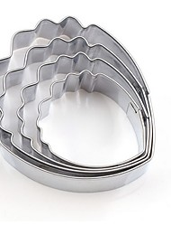 hesapli -2pcs Paslanmaz Çelik Mutfak Yenilik Araçları Tatlı Araçlar Bakeware araçları