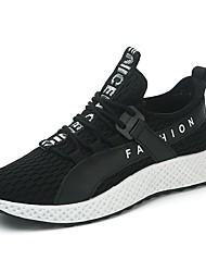 رخيصةأون -رجالي أحذية الراحة تيساج فولانت الربيع أحذية رياضية الركض أسود وأبيض / أسود / أحمر