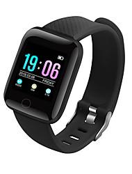 voordelige -D13 Unisex Smart Armband Android iOS Bluetooth Smart Sportief Waterbestendig Hartslagmeter Bloeddrukmeting Stappenteller Gespreksherinnering Activiteitentracker Slaaptracker Zoek mijn toestel