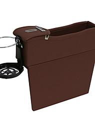 Недорогие -1 пара авто пу кожзаменитель автокресло сумка для хранения щель сиденья наполнители пространство сумка для хранения коробка