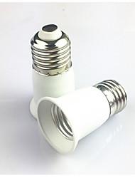 ieftine -1 buc E27 to E27 E14 100-240 V Convertor Plastic Bec pentru becuri