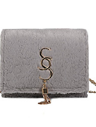 cheap -Women's Bags Polyester Crossbody Bag Chain Blushing Pink / Brown / Light Grey