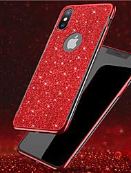 preiswerte -Hülle Für Apple iPhone 8 / iPhone XS Max Beschichtung / Glänzender Schein Rückseite Durchsichtig / Glänzender Schein Weich TPU für iPhone XS / iPhone XR / iPhone XS Max
