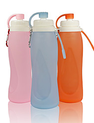 cheap -Kettle 5000 ml Silicon PP Portable Foldable Waterproof Case for Working Traveling Back Country 1 pcs Pink Grey Orange+White
