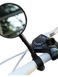 Недорогие -Зеркало заднего вида Рулевое зеркало на велосипед Регулируемая гибкая Ударопрочное С широким углом заднего обзора и рефлектором Широкий угол заднего обзора Безопасность Назначение