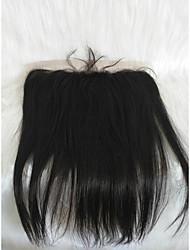 Χαμηλού Κόστους -Μαλλιά για πλεξούδες Ίσιο Άλλα Φυσικά μαλλιά 1 Τεμάχιο μαλλιά Πλεξούδες Μαύρο 22 inch 22 χιλ Γυναικεία Διακοπές Μογγολική