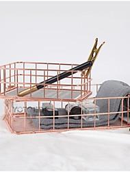 billige -Metall Som på Bilde 2 sett Oppbevaringskasse / Oppbevaringsbokser / Racks & Holders
