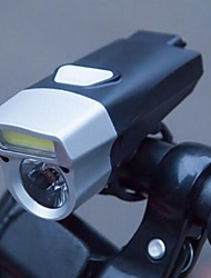 Недорогие -Светодиодная лампа Велосипедные фары Передняя фара для велосипеда Фары для велосипеда LED Горные велосипеды Велоспорт Велоспорт Водонепроницаемый Безопасность Новый дизайн Большой угол