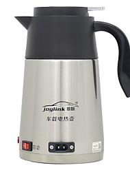 Недорогие -автомобильный электрический чайник из нержавеющей стали переносной / одноклавишный переключатель / нескользящая ручка / малошумный чайник 1.2л 12 / 24в