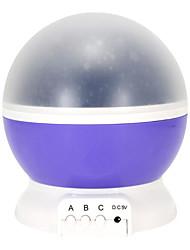 Недорогие -новинка креатив звезда луна проектор ночник 360 вращающийся полное ночное небо потолок стены движущаяся звезда проекционная лампа