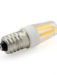Недорогие -1шт 2 W LED лампы накаливания 200 lm E14 T 4 Светодиодные бусины COB Тёплый белый Белый 220-240 V / RoHs