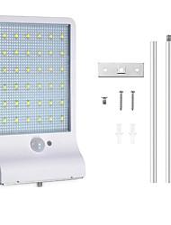billige -1pc 4 W Vandtæt / Solar / Infrarød sensor Hvid 3.7 V Udendørsbelysning 36 LED Perler