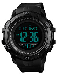 Недорогие -SKMEI Муж. Армейские часы Кварцевый силиконовый Черный / Зеленый 50 m Армия Защита от влаги Будильник Цифровой На открытом воздухе Мода - Синий Золотистый Темно-зеленый Один год Срок службы батареи