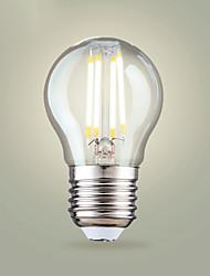 tanie -4 W Żarówka dekoracyjna LED 400 lm E26 / E27 A65 4 Koraliki LED COB Ciepła biel Zimna biel 200-240 V, 4 szt.