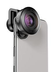 Недорогие -Объектив для мобильного телефона Объектив фиш-ай стекло / Алюминиевый сплав 1X 40 mm 0.01 m 195 ° Новый дизайн / Милый