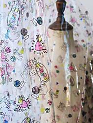 お買い得  -PVC アニマルプリント パターン 142 cm 幅 ファブリック のために アパレルとファッション 売った によって 0.45m