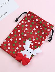 Недорогие -Рождество / Для вечеринок Нетканое полотно Подарочные коробки / Пакеты для печенья Креатив - 4 pcs