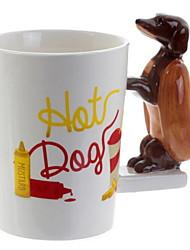 cheap -Drinkware Mugs&Cups Porcelain Cartoon Casual / Daily