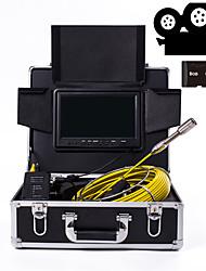 Недорогие -23 мм объектив промышленного эндоскопа 30 м рабочая длина 9-дюймовый дисплей с функцией видеокамеры ремонт автомобилей инспекция ремонт трубопроводов