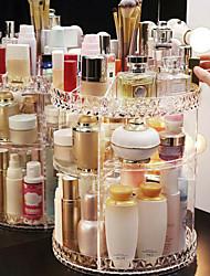 billige -lagringsorganisasjon kosmetisk makeup arrangør plast runde flerlag