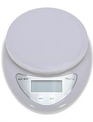 Недорогие -5kg/1g ЖК дисплей Электронные кухонные весы Кухня ежедневно