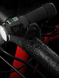 Недорогие -Светодиодная лампа Велосипедные фары LED подсветка Передняя фара для велосипеда Фары для велосипеда XP-G2 Горные велосипеды Велоспорт Водонепроницаемый Портативные Простота установки Литий-ионная 600